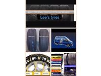 TYRES NEW AND PARTWORN