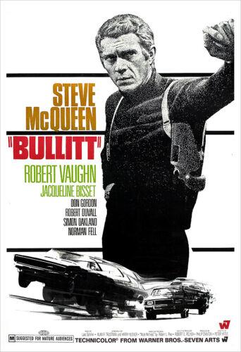 Bullitt - Movie Poster Print