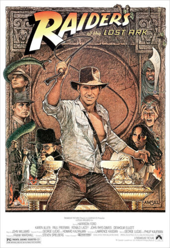 Raiders of the Lost Ark - poster print