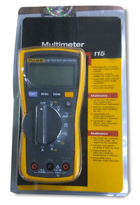 Genuine Sealed Pack Fluke 115 True Rms Digital Multimeter 15 Sold