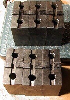 Schunk Tgm Tgh 18 Eh Metal Lathe Chuck Soft Jaw Blocks