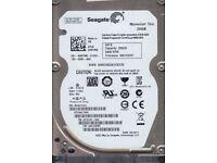 "Seagate Momentus Thin ST250LT003 250GB 5400 RPM 16MB Cache SATA 3.0Gb/s 2.5"""