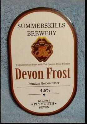 Summerskills Devon Frost pump clip front