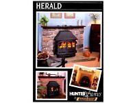 Hunter Stove Wood Burner, Multi Fuel In Good Conditiob