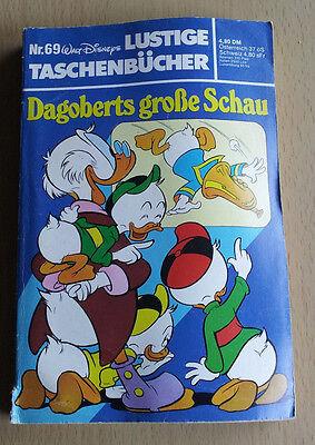 """Walt Disneys - Taschenbuch Nr. 69 """"Dagoberts große Schau"""" - über 250 Seiten gtZu"""