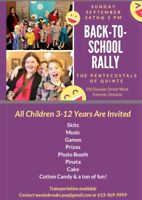 Back-to-School Rally