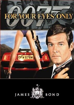 James Bond 007 For Your Eyes Only [DVD Movie, Region 1, Roger Moore] NEW