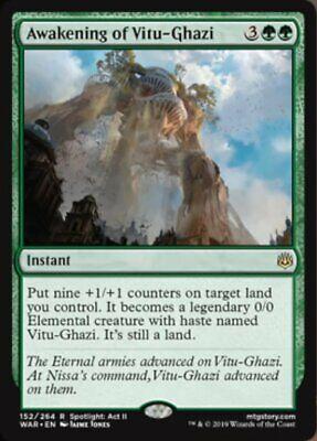 *MtG: AWAKENING OF VITU-GHAZI - War of the Spark Rare - magicman-europe*