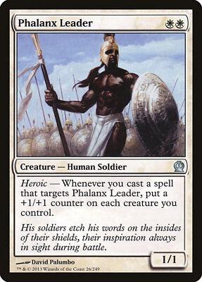 MTG Phalanx Leader [English, Theros, Free P&P]