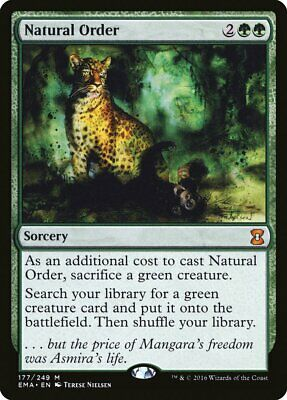Natural Order - Lightly Played - Eternal Masters - 177