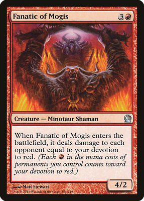 MTG Fanatic of Mogis [English, Theros, Free P&P]