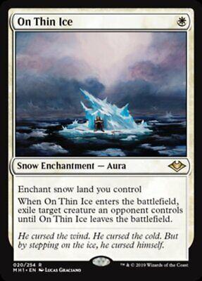 *MtG: 2x ON THIN ICE - Modern Horizons Rare - magicman-europe*