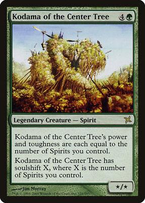 MTG Kodama of the Center Tree [English, Betrayers of Kamigawa, Free P&P]