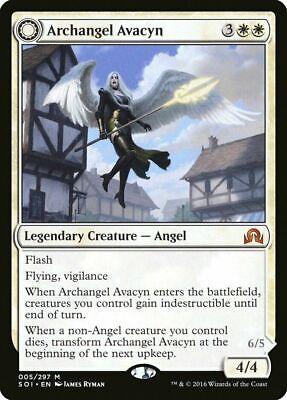 ARCHANGEL AVACYN - MTG Shadows Over Innistrad Mythic Rare Legendary Creature