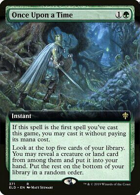 MTG *Once Upon a Time Extended Art X1* (NM) Throne of Eldraine Magic