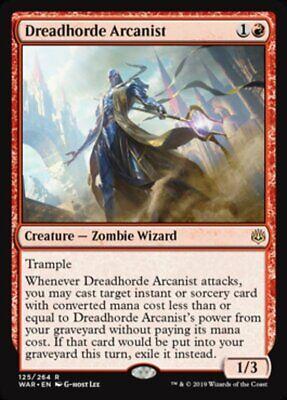 *MtG: DREADHORDE ARCANIST - War of the Spark Rare - magicman-europe*