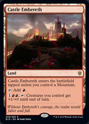 Castle Emebereth x4x Throne of Eldraine NM/Fresh MtG