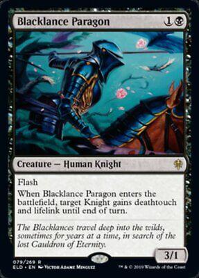 Blacklance Paragon x4x Throne of Eldraine NM/Fresh MtG