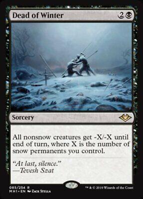 *MtG: DEAD OF WINTER - Modern Horizons Rare - magicman-europe*