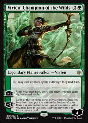 *MtG: VIVIEN, CHAMPION OF THE WILDS - War of the Spark Rare - magicman-europe*