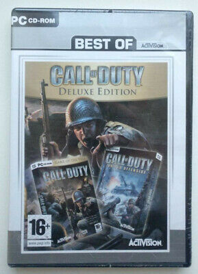 Call of Duty - Deluxe Edition PC (Best Of edition) New