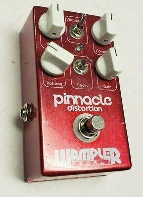 Wampler Pinnacle Distortion Overdrive Brown Sound Guitar Effect Pedal VGC