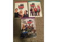 The big bang theory series 1 - 3 box set dvd