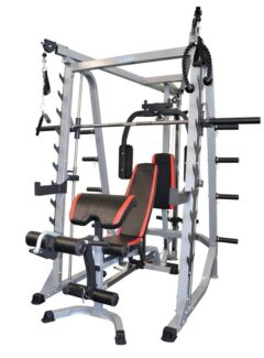 Smith machine SEMI-commercial +24 M warranty+100 KG weight plates Malaga Swan Area Preview