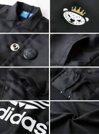 Adidas nigo coach jacket Rare Black