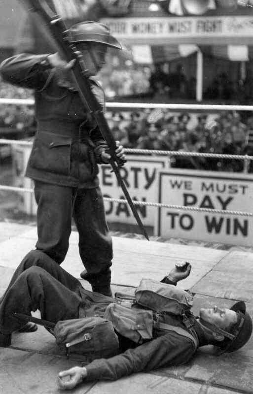 WW2  Photo Australian Troops Victory Drive  WWII  World War Two ANZAC Australia