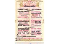 Love Saves the Day tickets Sat x2 face vaule £75 for both