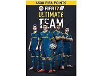 4600 FIFA points FIFA 17 account