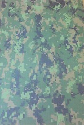 2 mm KYDEX T Sheet 297 X 210 (nominal)  GFG Cadpat Digital Camouflage (on Julep)