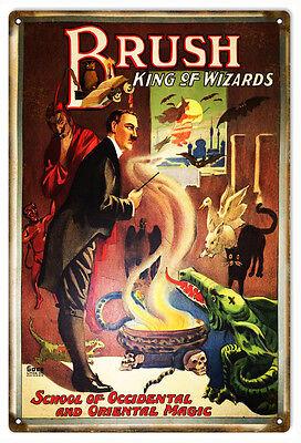 Brush King Of Wizards Oriental Magic Sign