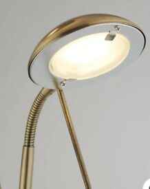 Gold Dimmable Floor Lamp