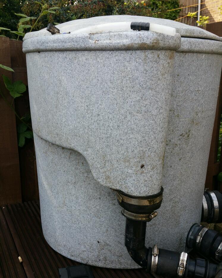 Nexus eazypod complete koi easy pod pond filter in for Nexus pond filter setup