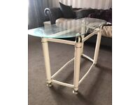 FREE - Beautiful Glass Console Table