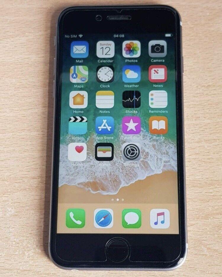 Iphone 6s 16gb spacegrey locked to vodafone