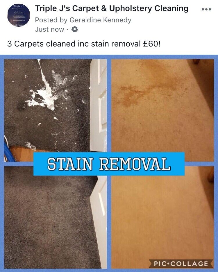 Triple J's Carpet and Upholstery Cleaning. SUITE + CARPET CLEANED FOR £99 | in East End, Glasgow | Gumtree