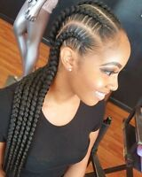 TRESSE , CROCHET Braid, tissage, nattes,cornrows