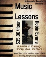 Fiddle and Music Lessons