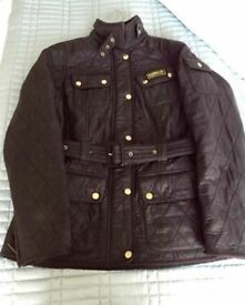 Ladies'/women's Barbour International Polarquilt jacket - UK size 10