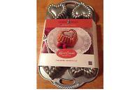 Nordic Ware Heart Cakelet Baking Pan RRP £40