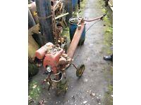 Villiers rotavator engine