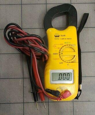 Uei Universal Enterprises Inc. Dl40 Digital Clamp-on Tester Meter Used Works