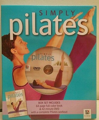 Simply Pilates Book & DVD Box Set by hinkler new in box