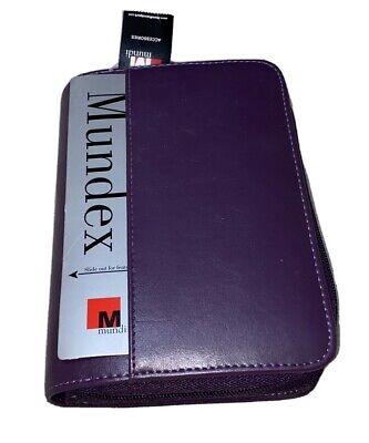 New Mundi Mundex Agenda Organizer Purple Great For Budgeting Couponing