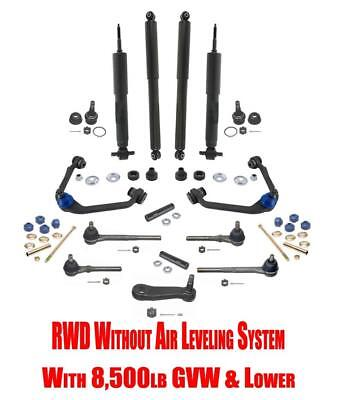 1997-1998 Ford F-250 RWD with 8,500lb GVW Front Suspension & Chassis Kit