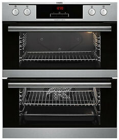 AEG built-under double oven