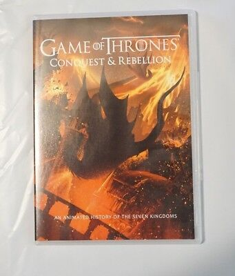 Game Of Thrones Conquest   Rebellion History Of The Seven Kingdoms Dvd